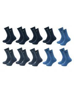 Pierre Cardin 10 Paar Casual Sokken Navy Mix