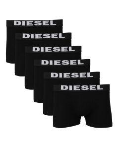 Diesel 6-pack Boxers Uni Zwart