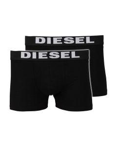 Diesel 2-Pack Boxers - Zwart/Zwart