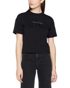 Calvin Klein Small Logo Tee Black