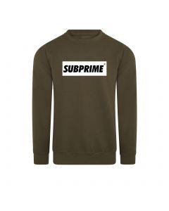 Subprime Sweater Block Army
