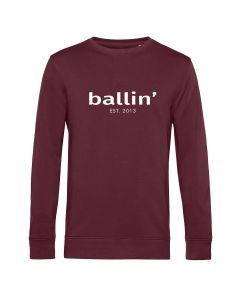 Ballin Est. 2013 Basic Sweater - Burgundy