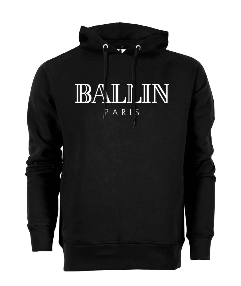 Dagaanbieding - Ballin - Hoodie - Zwart dagelijkse koopjes