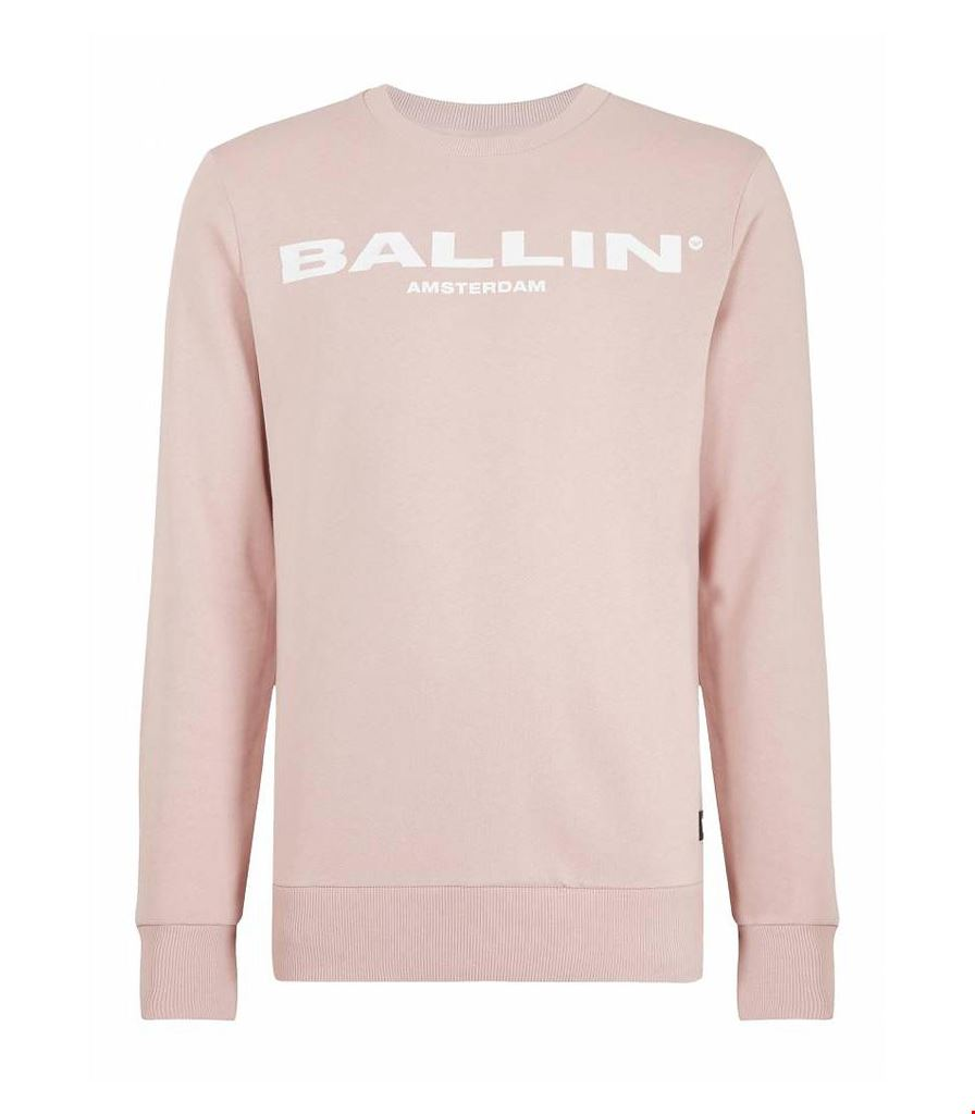 Ballin Amsterdam - Original Men Crewneck Old Pink