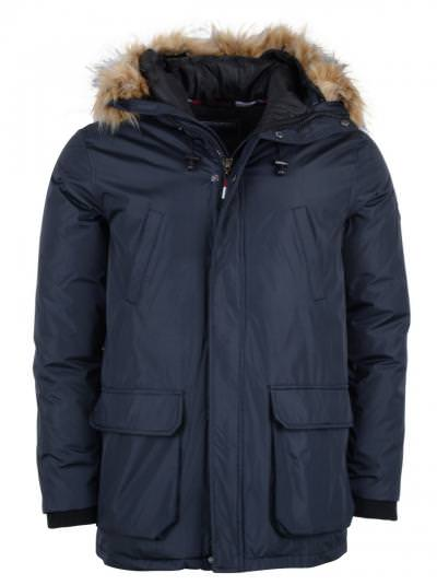 Simon and Son - Parka - Blauw