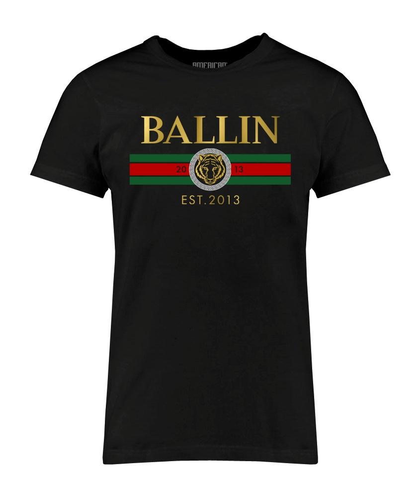 Ballin - Line Small Shirt - Zwart