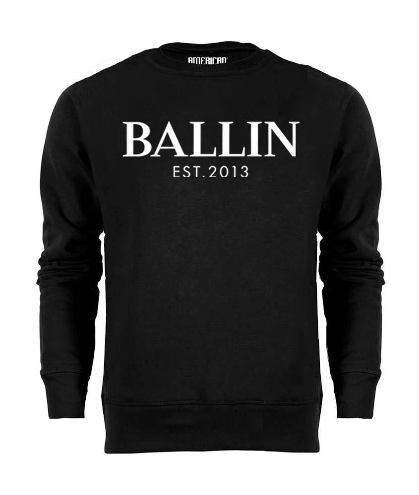 Ballin - Basic Sweater - Zwart