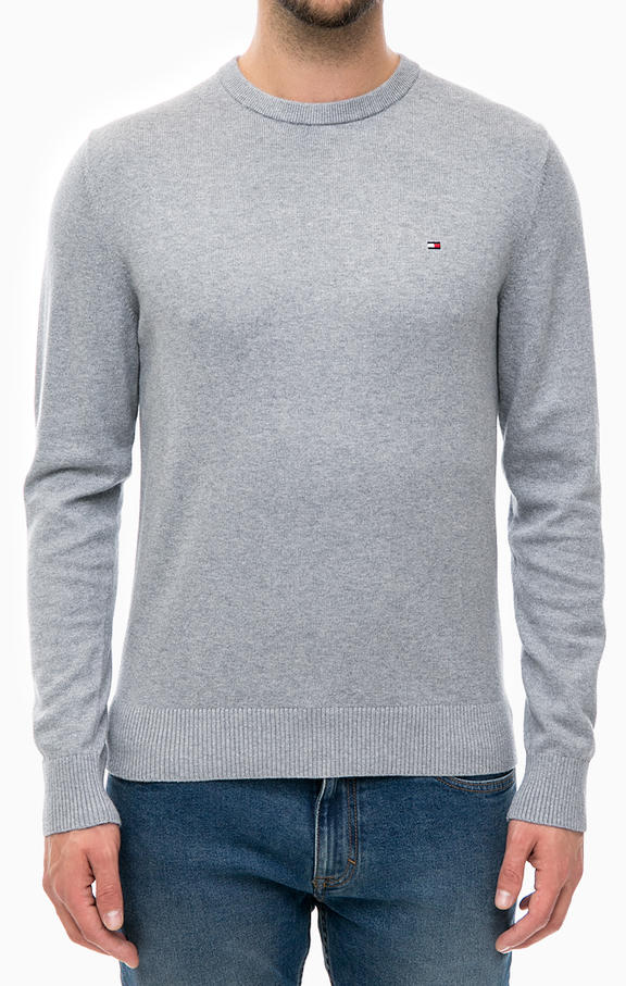Tommy Hilfiger Knitted Cashmere Grey